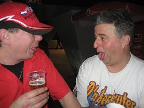 Photo: Bier niet echt lekker zo te zien