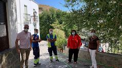 PFEA en el pueblo de Beires.