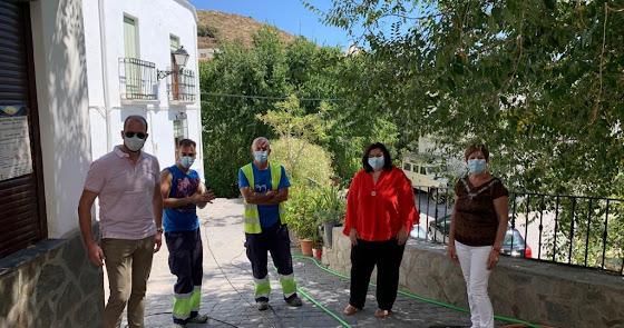 El PFEA mejora servicios en Beires y Alcolea
