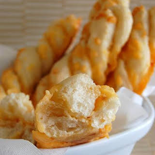 Garlic-Cheese Twists.