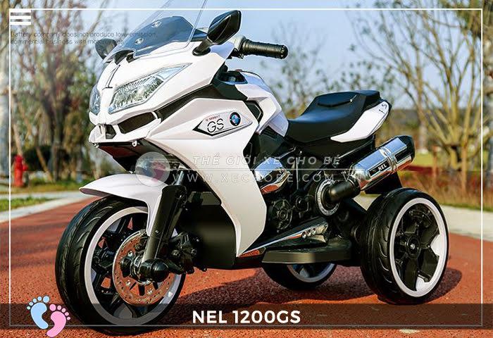 Moto điện 3 bánh cho bé NEL-1200GS 6