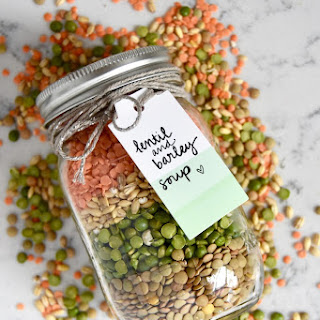Lentil and Barley Soup Mix Recipe