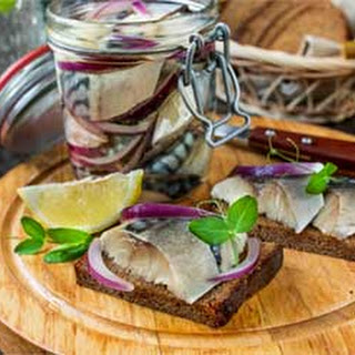 Russian Marinated Mackerel