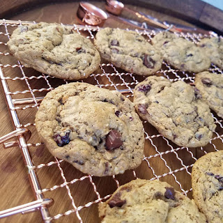 Clean Eating Cranberry Almond Oat Cookies.