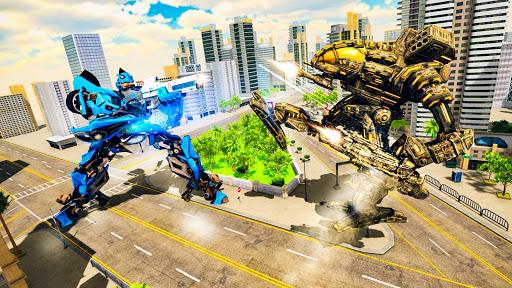 Ultimate Robot Car transforming game  captures d'u00e9cran 2