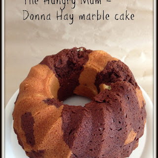 Donna Hay marble cake