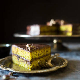 Paleo Mint Gluten Free Chocolate Cake.