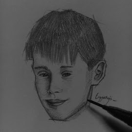 Kevin McCallister by Enggar Aji - Drawing All Drawing ( #drawing #artist #quicksketch #realis, #sketching #onlypencil )