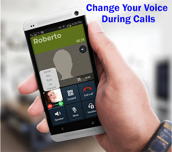 Call Voice Changer with Effects - náhled