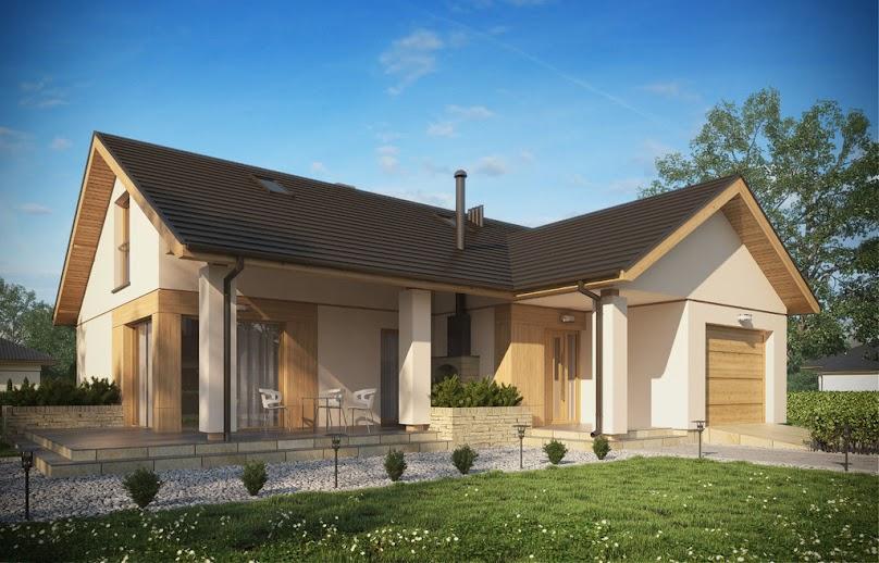 Projekt domu D106