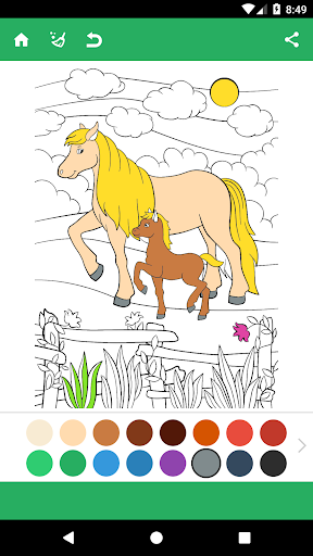 Horse Coloring Pages 1.8 screenshots 3