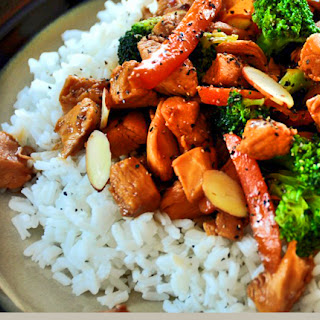Captain's Chicken and Broccoli Stir-Fry.