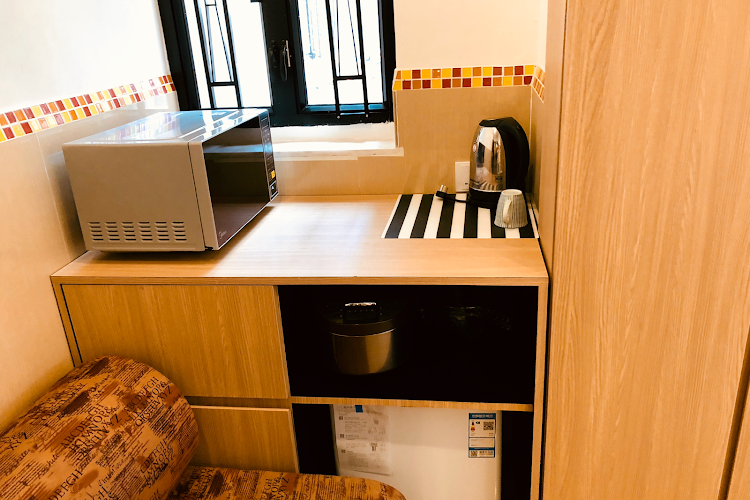 Kitchen at Causeway Bay apartment
