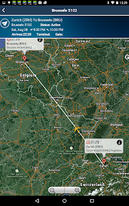 Brussels Airport + Radar BRU screenshot 8