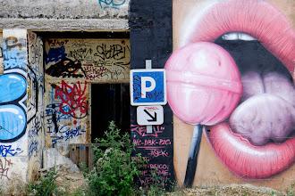 Photo: [Jeaze Lollipop]  Mika - Lollipop - live at Eden Sessions 2010  #streetartphotography  #intotheprohibitedhouse