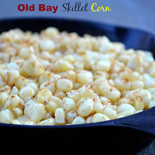 Old Bay Skillet Corn