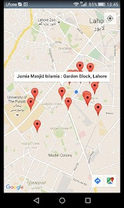 Mobile Location Tracker Map screenshot 1