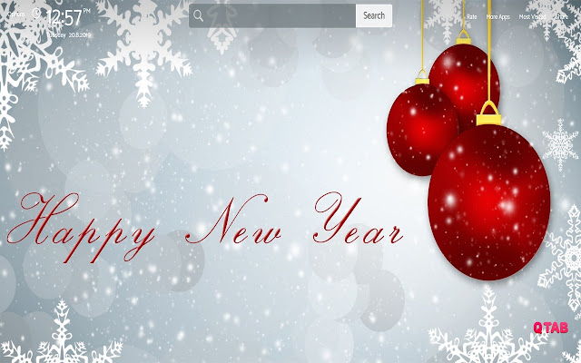 Happy New Year Wallpapers Theme |GreaTab