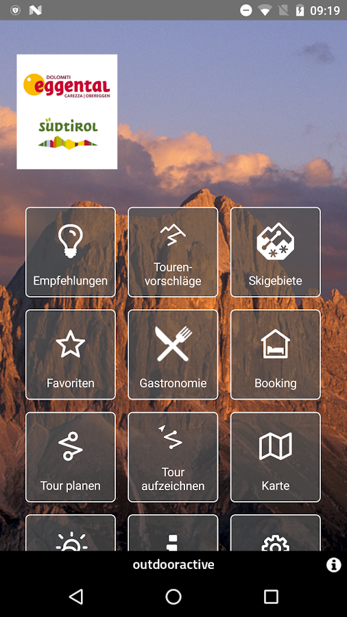 Eggental – Südtiroler Dolomiten – Screenshot