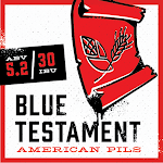 Back Pew Blue Testament