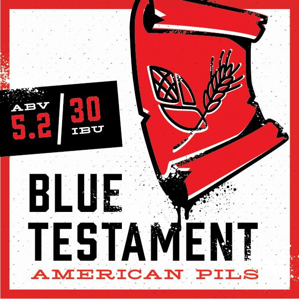 Logo of Back Pew Blue Testament