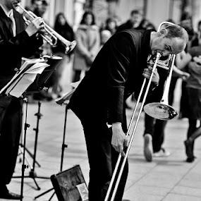 by Dainius Ščiuka - People Musicians & Entertainers