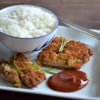Simple Chicken Katsu
