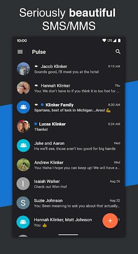 Pulse SMS (Phone/Tablet/Web) 5.4.1.2767 screenshots 1