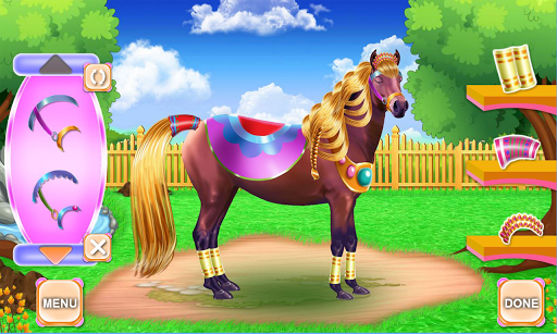 Horse Hair Salon and Mane- Tressage 1.0.0 screenshots 7