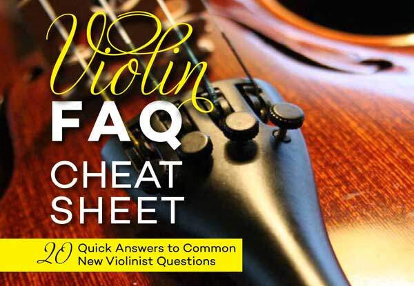 Click Here to Get Your Free Violin Cheat Sheet!