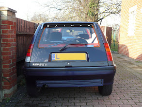 Photo: Renault 5 Campus fitted with Renault 5 Gt Turbo Raider rear bumper