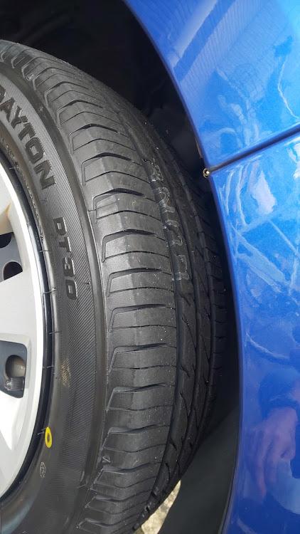 Nボックス JF3のタイヤ,デイトンDT30に関するカスタム&メンテナンスの投稿画像3枚目