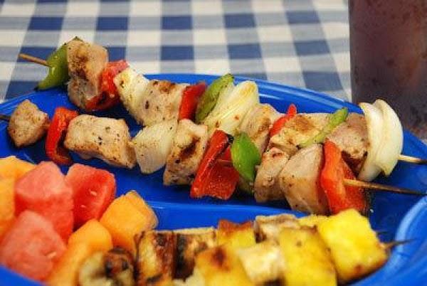 Tropical Pork Kabobs Recipe
