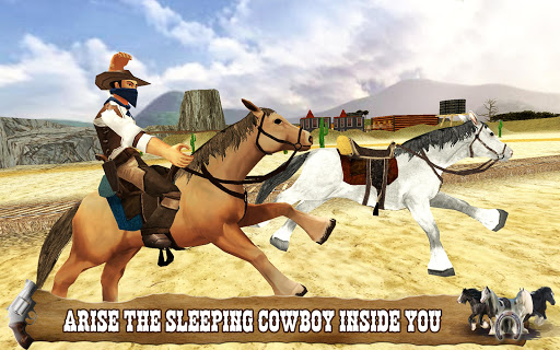 Cowboy Horse Riding Simulation  screenshots 2