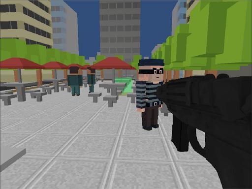 Pixel Block Gun 3d