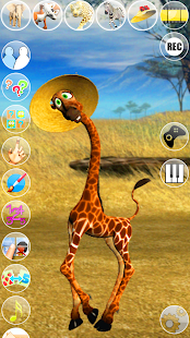 Talking George The Giraffe- screenshot thumbnail