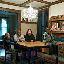 Photo: title: Sarah, Joe, Genevieve & Ellie Francois, St. Louis, Missouri date: 2012 relationship: friends, met through Tania Allen years known: Sarah 25-30, Joe 5-10