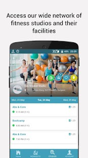 FitMeIn - Exercise on the Go!- screenshot thumbnail