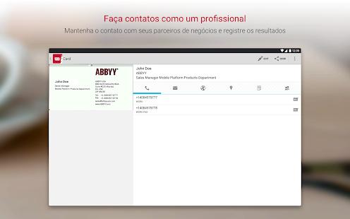 Business card reader scanner de carto de visita apps no google play imagem da captura de tela reheart Gallery