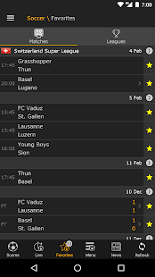 LiveScore for PC-Windows 7,8,10 and Mac apk screenshot 3