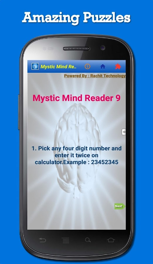 Mystic Mind Reader(BrainGames)- screenshot