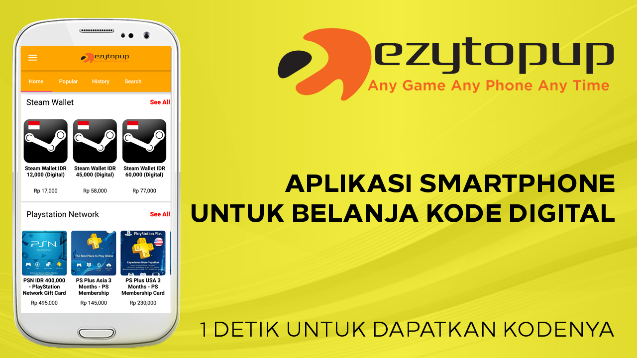 Ezytopup- screenshot
