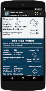 Weather forecast for week screenshot 4