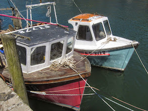 Photo: ... and colorful boats.