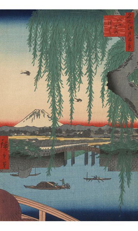 浮世絵ライブ壁紙(タテ版)のおすすめ画像3