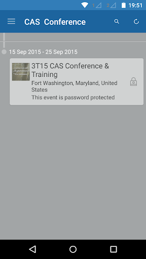CAS Conference