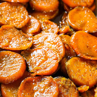 Vegan Baked Candied Yams.