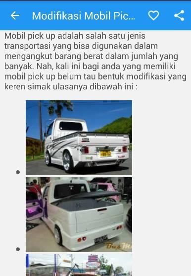 860 Modifikasi Mobil Pick Up Sederhana Gratis Terbaik