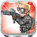 Metal Contra rambo Soldier icon