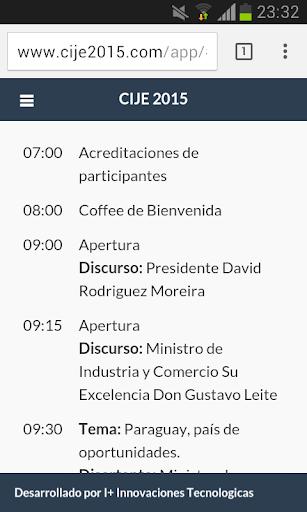 CIJE 2015 - AJE Paraguay